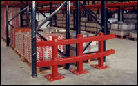 Warehouse Racking Heavy Duty Barrier Safety Products