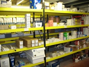 Widespan Shelving Racking