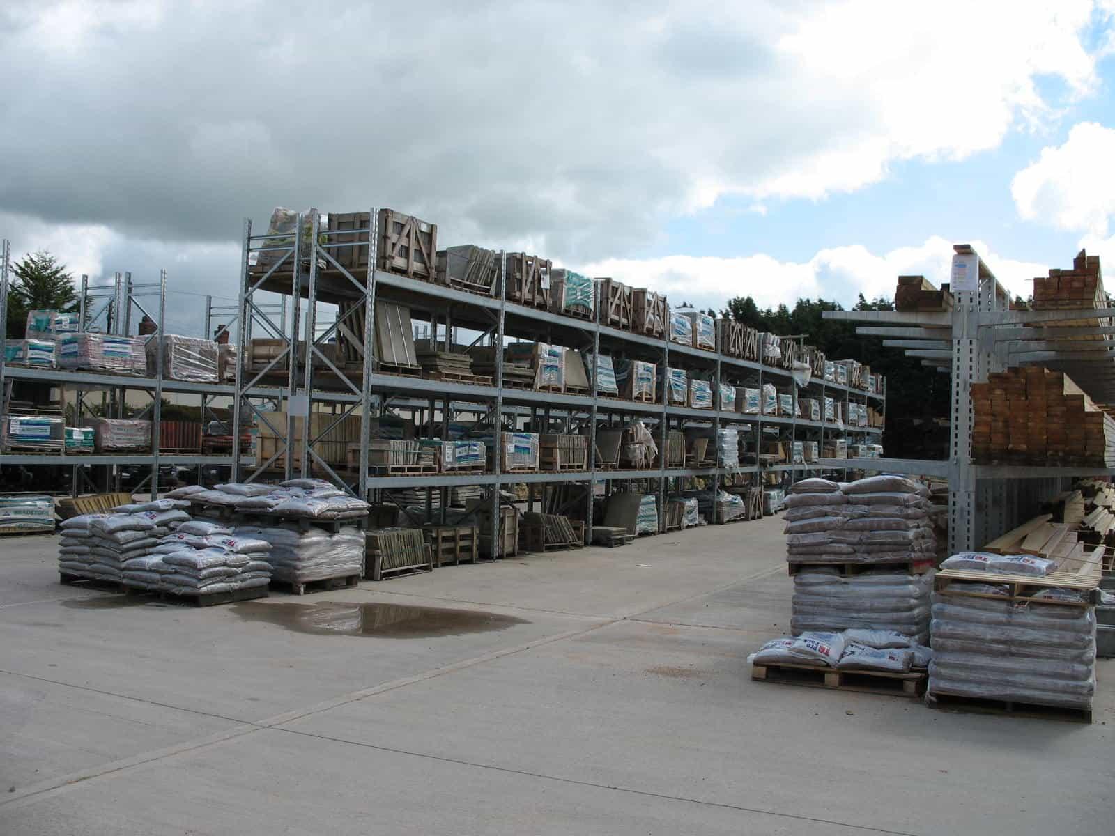 Builders Merchants Storage Solutions Warehouse Amp Yard
