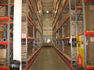 Construction Industry Racking for Warehouses