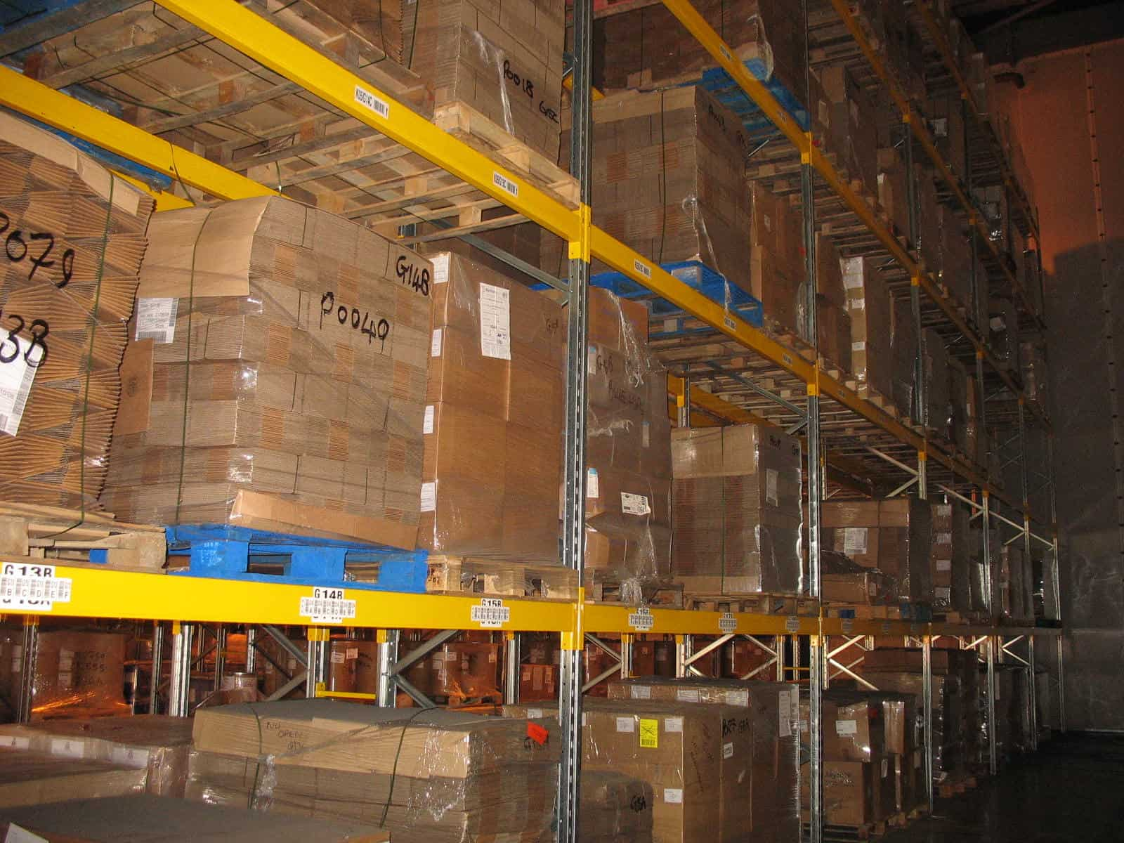 Double Sided Pallet Racking Distributions & Logistics