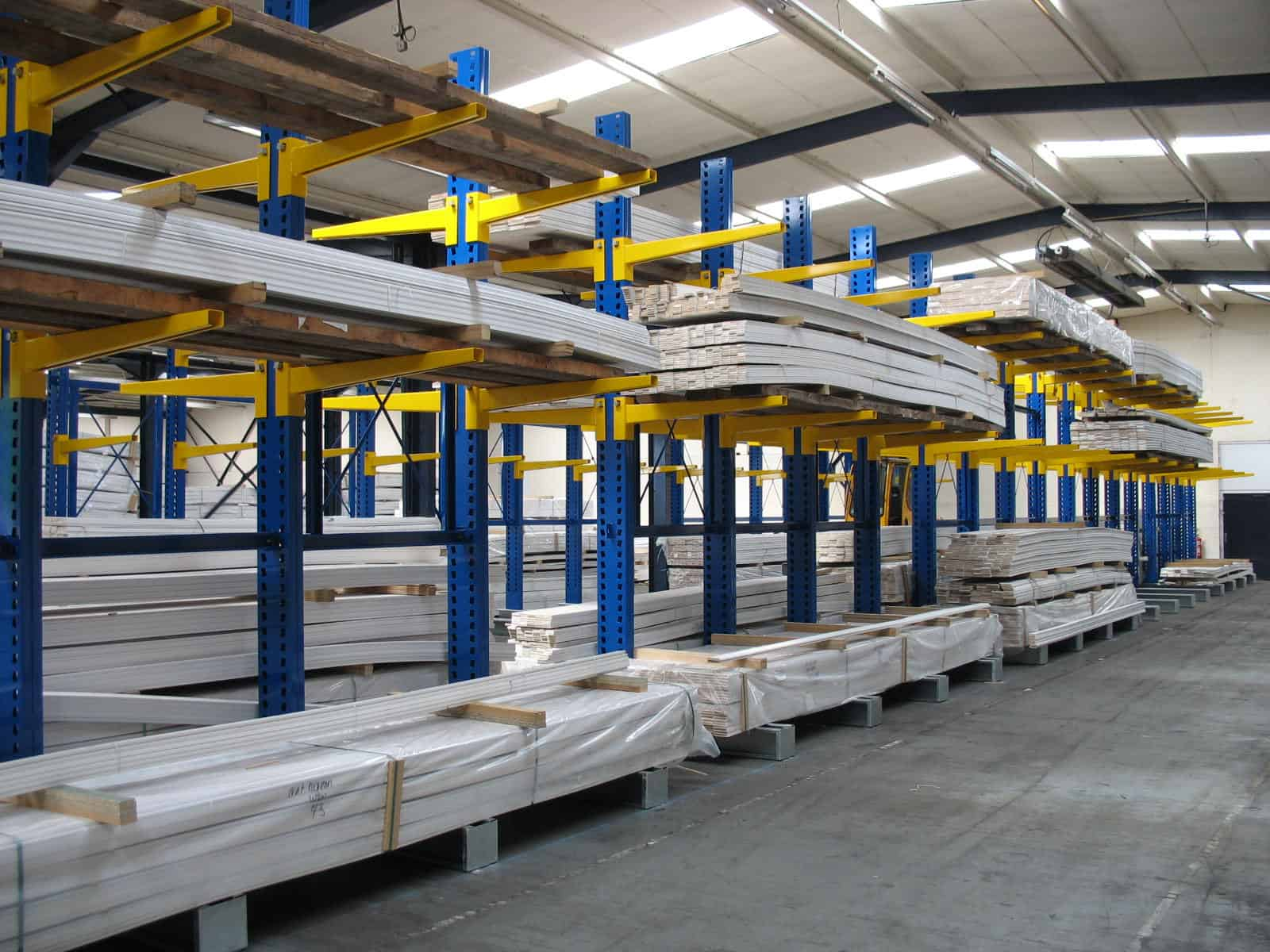 Windows & Conservatories Cantilever Racking