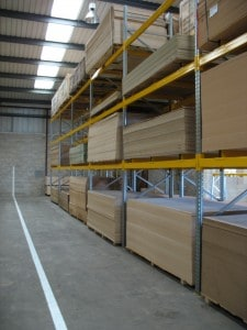 Panel Products Racking System