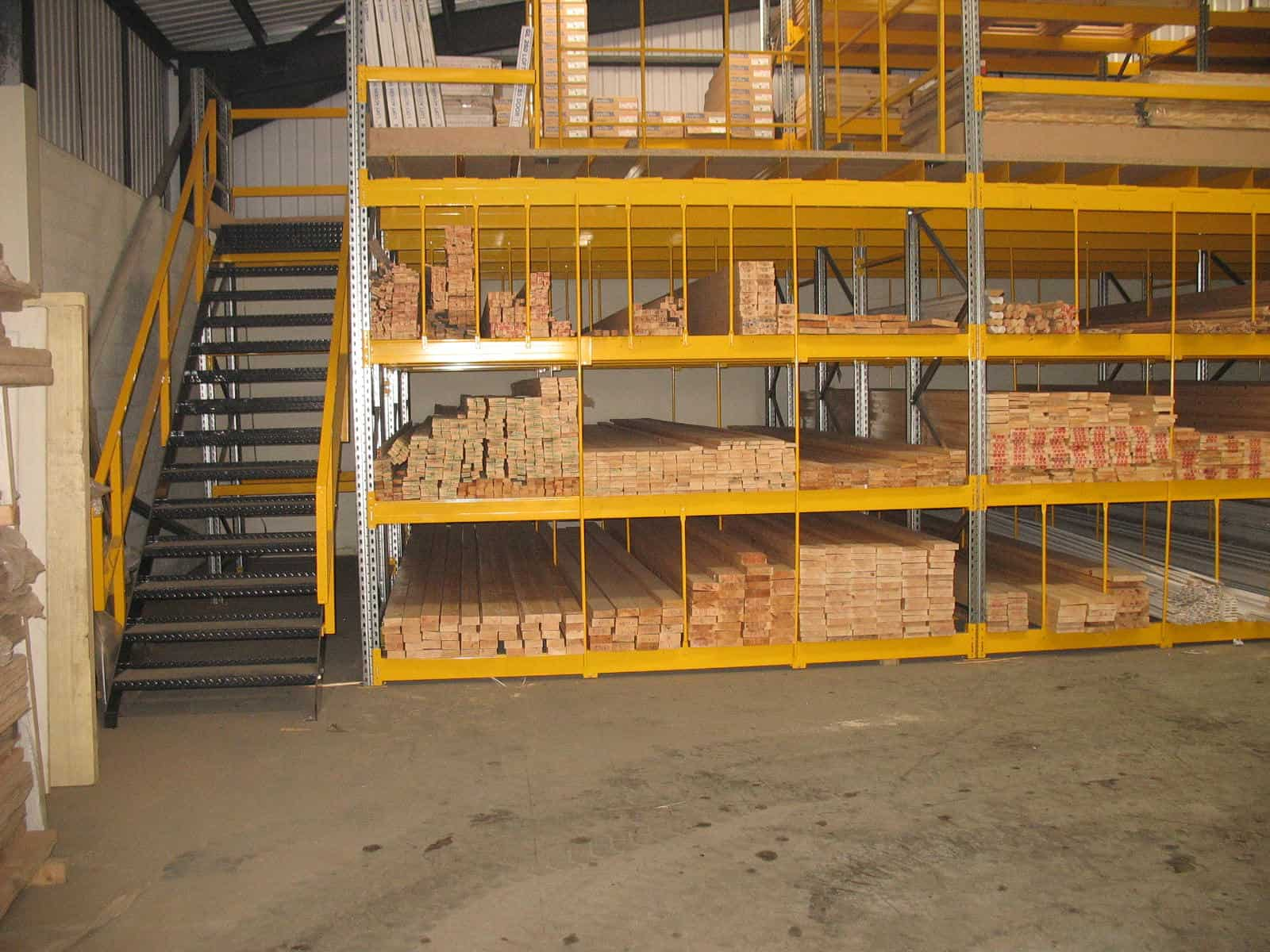 Pigeon Hole Racking for Timber