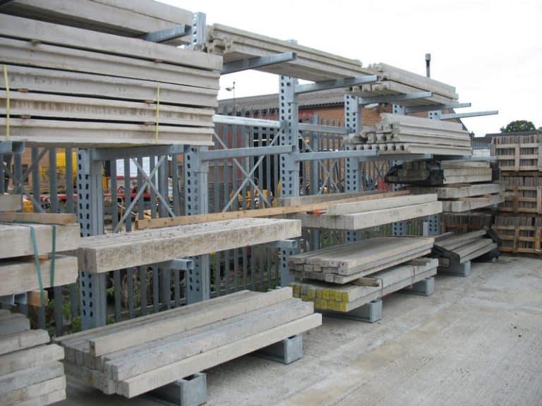 Builders Merchants External Racking