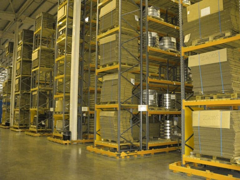 Construction Industry Pallet Racking