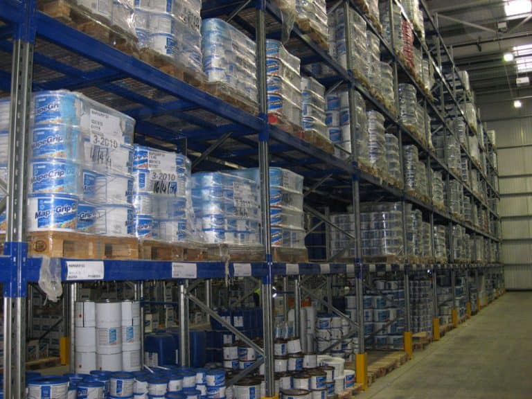 Distribution and Logistics Pallet Racking