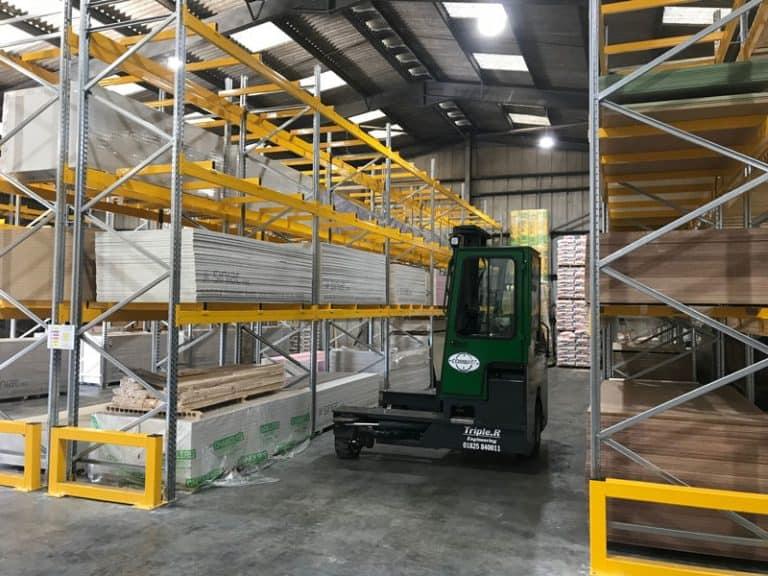 Wide Aisle Pallet Heavy Duty Racking