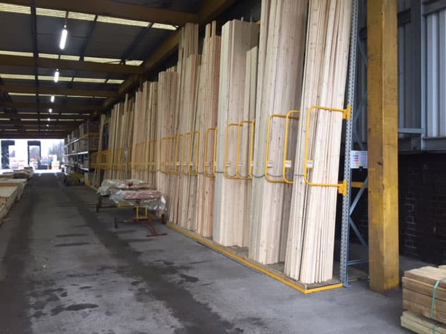 Vertical A Frame Racking for Timber
