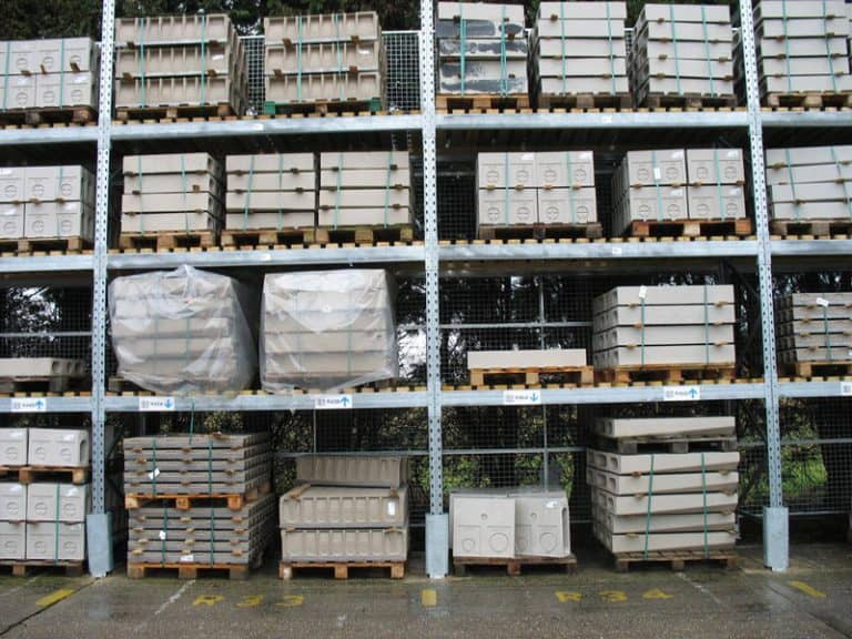 Warehouse Racking Post Protectors Safety Products