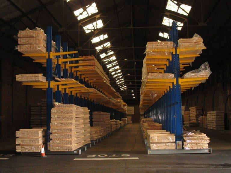 Internal Warehouse Cantilever Racking