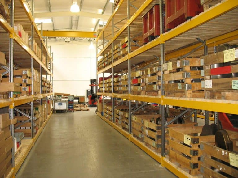 Warehouse Pallet Racking for Construction Industry