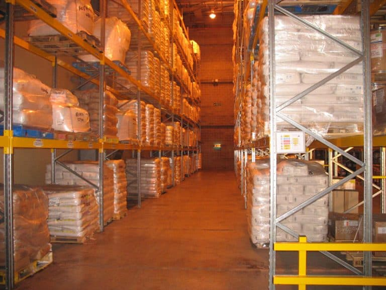 Pallet Racking Storage for Food Production
