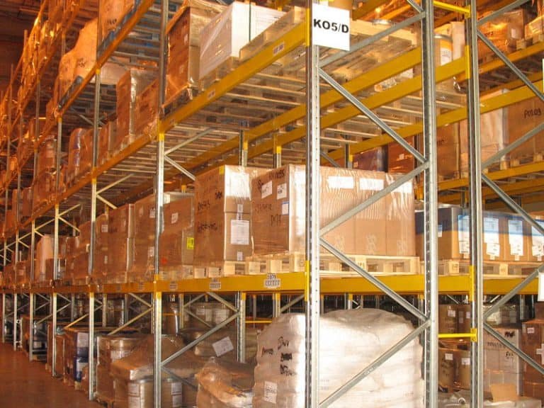 Pallet Racking for Distribution Warehouse