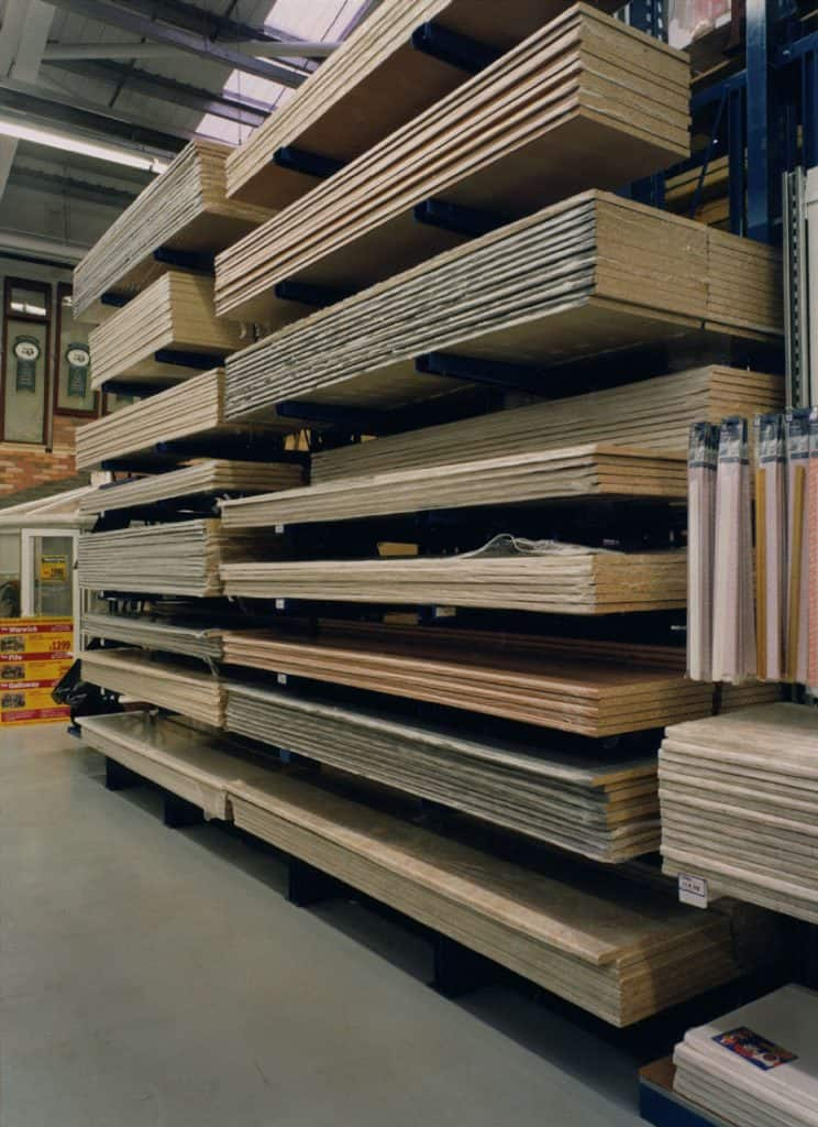 Worktop Racking for Kitchen Industry
