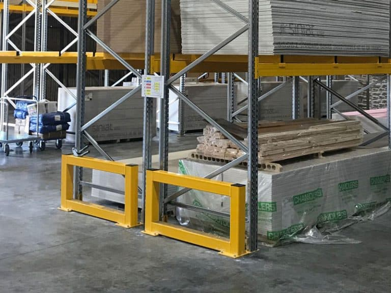 Pallet Racking Safety Barrier