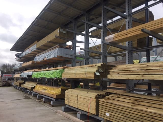 Timber Cantilever Racking