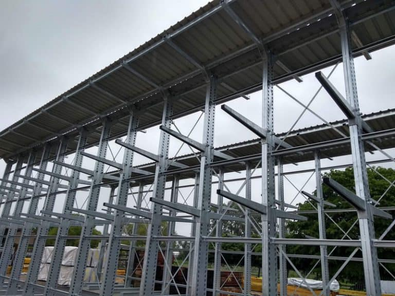 External Galvanised Cantilever Racking