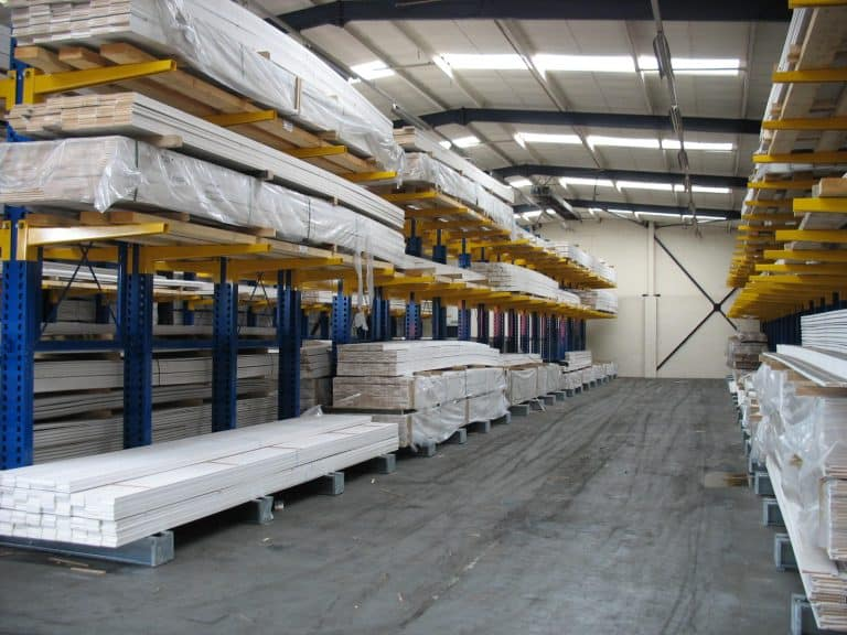 Internal Cantilever Racking Builders Merchants