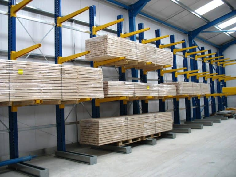 Internal Cantilever Racking for Timber Mouldings