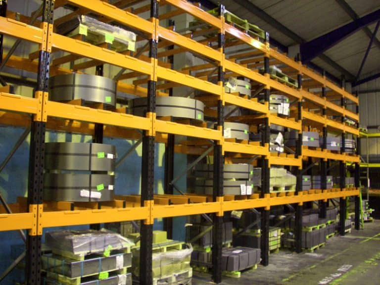pallet racking for steel coils